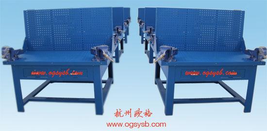 OGQ-F四工位全钢型钳工桌